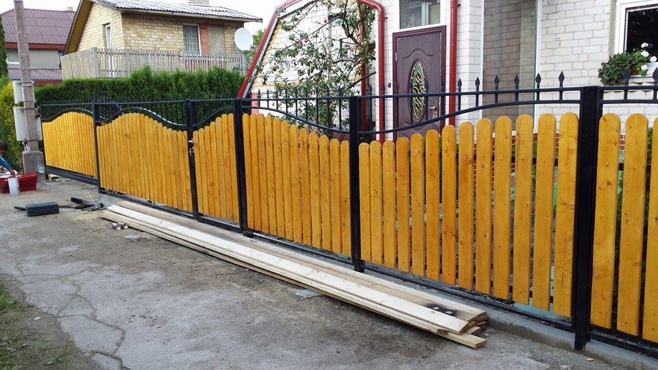 Metalinė tvora